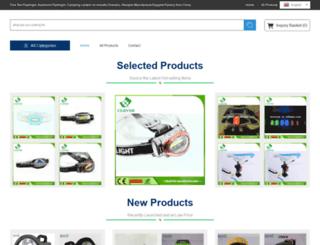 zjflashlight.com screenshot