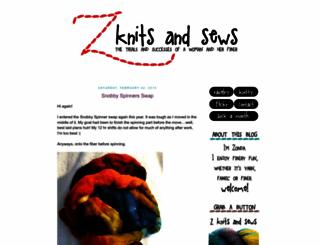 zknitter.blogspot.com screenshot