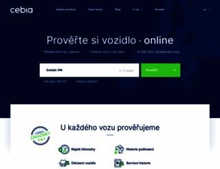 zkontrolujsiauto.cz screenshot