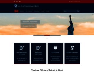 zkrlaw.com screenshot