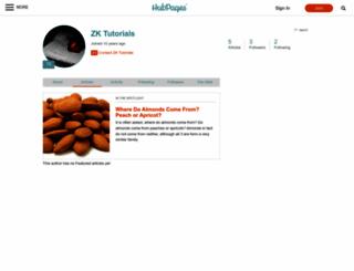 zktutorials.hubpages.com screenshot
