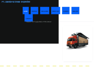 zle-cargoexpress.com screenshot
