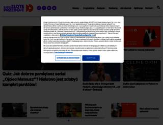 zloteprzeboje.tuba.pl screenshot