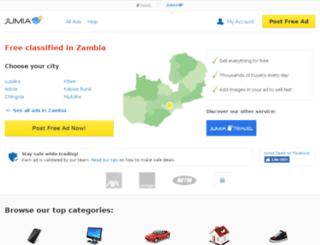 zm.lamudi.com screenshot