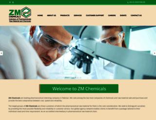 zmchemicals.com screenshot