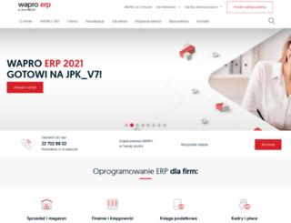 zmiany-w-vat.wapro.pl screenshot