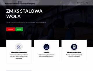 zmksstalowawola.pl screenshot