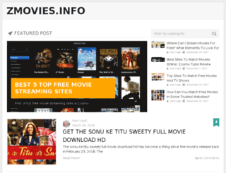 zmovies.info screenshot
