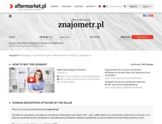 znajometr.pl screenshot