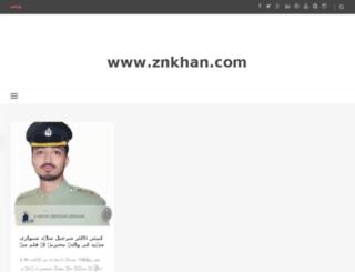 znkhan.com screenshot