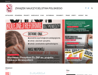 znp.edu.pl screenshot