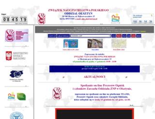 znp.olsztyn.pl screenshot