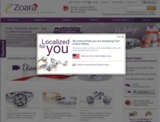 zoara.co.uk screenshot