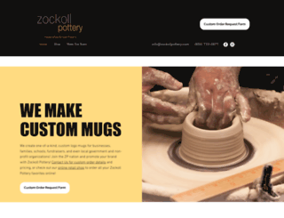zockollpottery.com screenshot