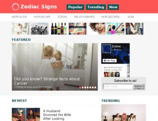 zodiaclyfe.net screenshot