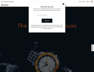 zodiacwatches.com screenshot