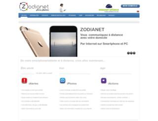 zodianet.com screenshot