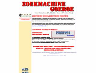 zoekmachinegoeroe.com screenshot