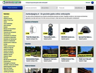 zoekwekker.nl screenshot