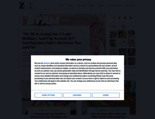 zoella.co.uk screenshot