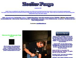 zoellerforge.com screenshot