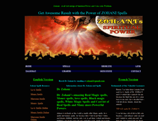 zohani.com screenshot