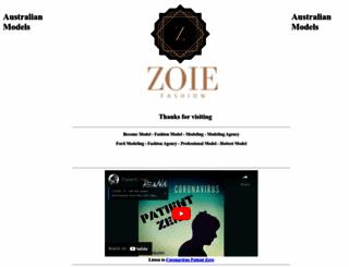 zoie.com.au screenshot