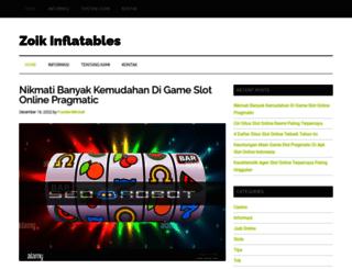 zoikinflatables.com screenshot