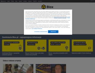 zojka.blox.pl screenshot