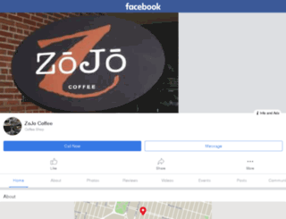 zojocoffee.com screenshot