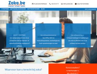 zoka.be screenshot