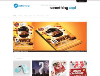 zokidesign.com screenshot