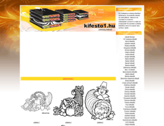 zoldseg-kifestok.kifesto1.hu screenshot