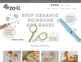 zolibaby.com screenshot