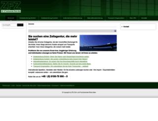 zoll-service.eu screenshot