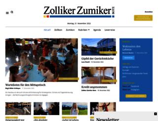 zollikerbote.ch screenshot