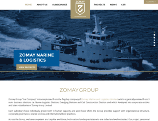 zomaygroup.com screenshot