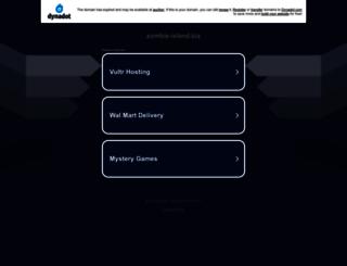 zombie-island.biz screenshot