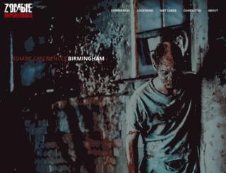 zombieexperiences.co.uk screenshot