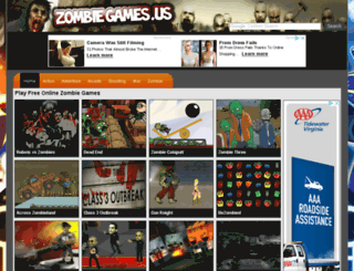 zombiegames.us screenshot