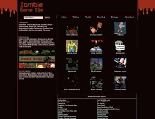 zombiegamesite.com screenshot