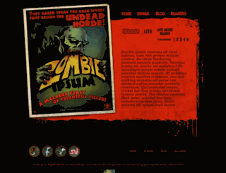 zombieipsum.com screenshot