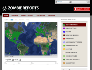 zombiereports.com screenshot