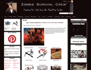 zombiesurvivalcrew.com screenshot
