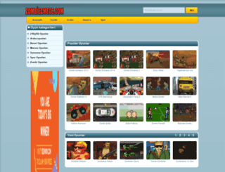 zombiezmece.com screenshot
