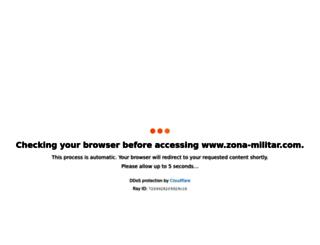 zona-militar.com screenshot