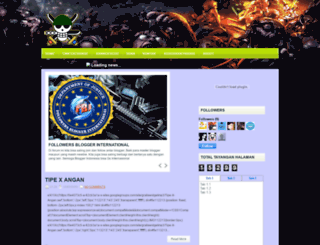 zona-sampit.blogspot.com screenshot