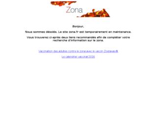 zona.fr screenshot