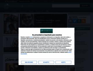 zonacatastrofica.com screenshot