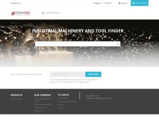 zonacnc.com screenshot